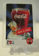 1995 Coca Cola Collect A Card $3. Sprint Phone Card in Case