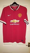 Camicia calcio da uomo-Manchester United Home - 2014-2015 - NIKE-XL di Maria 7
