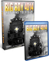 Big Boy 4014 Returns to Steam - DVD or Blu-ray - NEW Pentrex Union Pacific Video