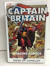 Marvel CAPTAIN BRITAIN VOL 2 Siege of Camelot Hardcover HC Omnibus New MSRP $40
