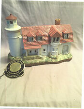 "Lefton Collection Historic Lighthouse ""Point Betsie""- Michigan-Estate Sale Item"