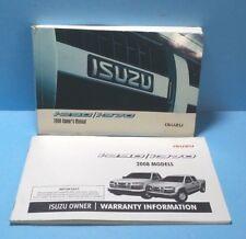 08 2008 Isuzu I-290/I-370 owners manual