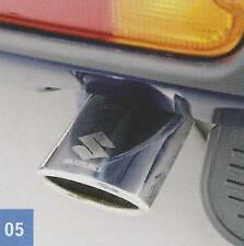 Genuine Suzuki Exhaust Pipe Tail Muffler Extension Chrome Oval Tip 990E0-62J18
