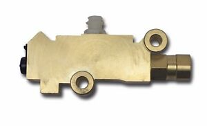 gm style proportioning valve disc drum  2 inlets 3 outlets brass pv2 brass