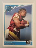 🔥 2018 Donruss Derrius Guice Rated Rookie Redskins #307 Great Price!!!