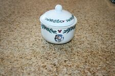 """Disney's 'Twas the Night Before Christmas"""" Sugar Bowl Great Condition"""