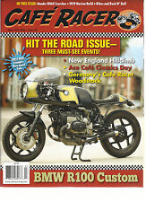 CAFE RACER, JUNE / JULY, 2016  ISSUE, 45 ( HIT THE ROAD ISSUE ) BMW R100 CUSTOM