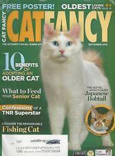 Cat Fancy (Sep 2012) 10 Benefits of Adopting Older Cat, Japanese Bobtail ~ G594A