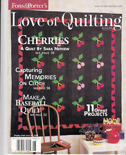 Fons & Porter Love of Quilting May/June 2003
