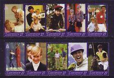 Guernsey 2003. Prince William 21st Birthday  SG998/1007  MNH