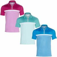 SKECHERS GO GOLF MENS MONTEREY POLO SHORT SLEEVE PERFORMANCE POLO SHIRTS