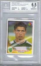 2002-03 Panini Futebol Portugal Stickers #306 Cristiano Ronaldo BGS 6.5 *Rookie*