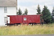5E600Z RP CABOOSE #? WHAT RAILROAD LEWISBURG OREGON 2004