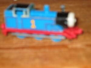 BRITT ALLCROFT ERTL BLUE NO 1 THOMAS THE TANK ENGINE TRAIN PRETEND PLAY DIECAST