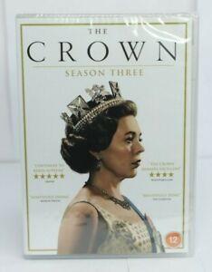 The Crown Season Three 03 DVD 2020 Brand New & Sealed Free & Fast Postage
