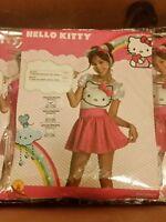 NWT HELLO KITTY GIRLS HALLOWEEN COSTUME - TUTU DRESS TODDLER 2T 3T 4T SMALL MED