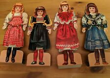 """Paper Dolls & Outfits from """"Our Dollies & How To Dress Them"""" - Free Shipping"""
