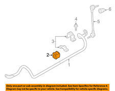 FORD OEM 13-15 Taurus Stabilizer Sway Bar-Front-Bushings DG1Z5484A