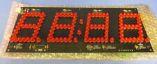 STATIC CONTROLS CORP.  LED NUMERIC DISPLAY BOARD AD-0801-001 / AD-0801-013 NNB