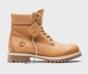 """TIMBERLAND MENS LIMITED HORWEEN LEATHER 6"""" INCH PREMIUM WATERPROOF BOOTS A1JJB"""