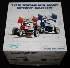 GMP SPRINT CAR MODEL KIT, 1:18 DIECAST, SEVERAL CHASSIS & ENGINE OPTIONS, NIB