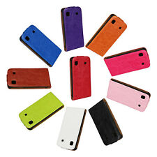 Fashion For Samsung Galaxy S I9000 Genuine Leather Flip Case Open Up Protector