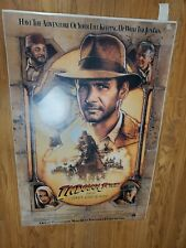 Indiana Jones The Last Crusade 1989 Poster. New in plastic wrap! Rare 24x36