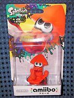 NEW Nintendo Switch amiibo Splatoon 2 Inkling Squid Orange Color Wii U JAPAN F/S