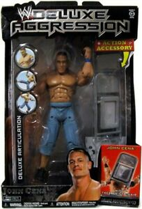 WWE Deluxe Aggression John Cena Figure