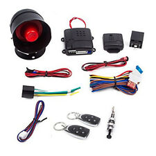 1-Way Universal Car Alarm Security Keyless Entry System with Two 2 Remote