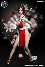 SUPER DUCK 1/6 SET012-B Mai Shiranui Head & Red Clothing Suit Fighting Girl