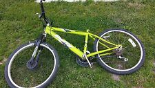 "Huffy Pacific Boys 24"" Greenish Yellow Bike,18 Speed Stone Mountain"
