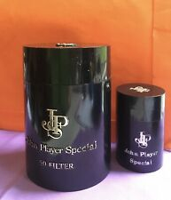 vintage smoking memorabilia : John Player Special Cigarette And Match Containers