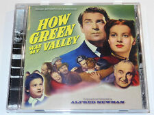Alfred Newman HOW GREEN WAS MY VALLEY Remastered Soundtrack Limited CD (NM)