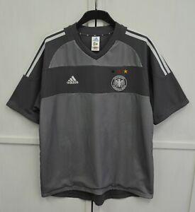Germany 2002/2003 Vintage Away Football Shirt Soccer Jersey Adidas Men's Size XL