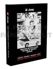 1974 Jeep Shop Manual CJ5 CJ6 Cherokee Wagoneer Truck J10 J20 Repair Service