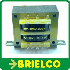 TRANSFORMADOR ALIMENTACION 220VAC A 12V+12V 0.75A 24V 0.4A CHASIS ABIERTO BD8320
