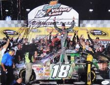 Kyle Busch Signed 2009 DARLINGTON WIN 11X14 Photo JSA
