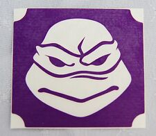 GT84 Body Art Temporary Glitter Tattoo Stencil  Mutant Ninja Turtle