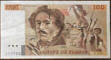 Billet 100 francs Eugène DELACROIX 1993 FRANCE  N.230
