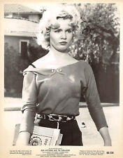 "Tuesday Weld vintage sweater girl pinup photo ""Sex Kittens Go To College"", 1960"