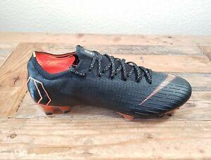 Nike Mens Size 9 MercuriaL Vapor 12 360 Elite FG Soccer Cleats Black AH7380-081