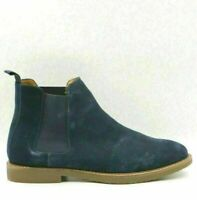 Steve Madden Men Chelsea Boots Highline Size US 10M Navy Blue Suede