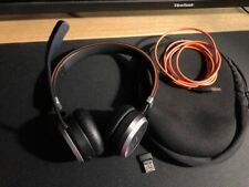 Jabra Evolve 65 UC Stereo Black Ear-Cup Headsets