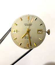Vintage Golana Automatic De Luxe 25 Jewels Swiss Movement Spare Parts Only