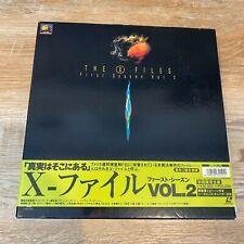 X-FILES Laserdisc Box Set 1st Season Vol 2  RARE Japanese Release 20th Fox