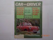 Collectible Automobile Magazine Car & Driver April 1964
