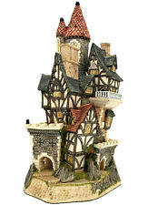 David Winter Cottages Castle in the Air No Coa Box Flags Or Cannons Needs A Home