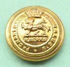 Royal Berkshire Regiment Button Princess Charlotte of Wales's 18 mm Brass Button