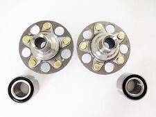 REAR Left & Right Wheel Hub & 2 REAR Bearing Set For HONDA CR-V LX  2002-2004